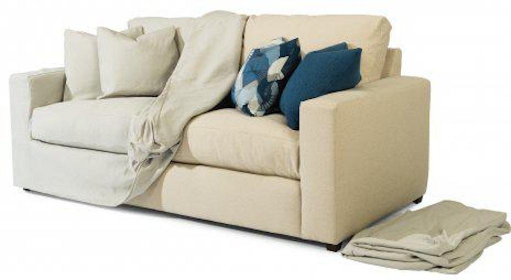 Flexsteel Meadow Two Cushion Sofa 70slp