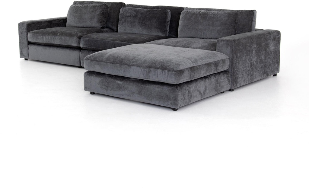 Bloor 3 Piece Sectional W Ottoman