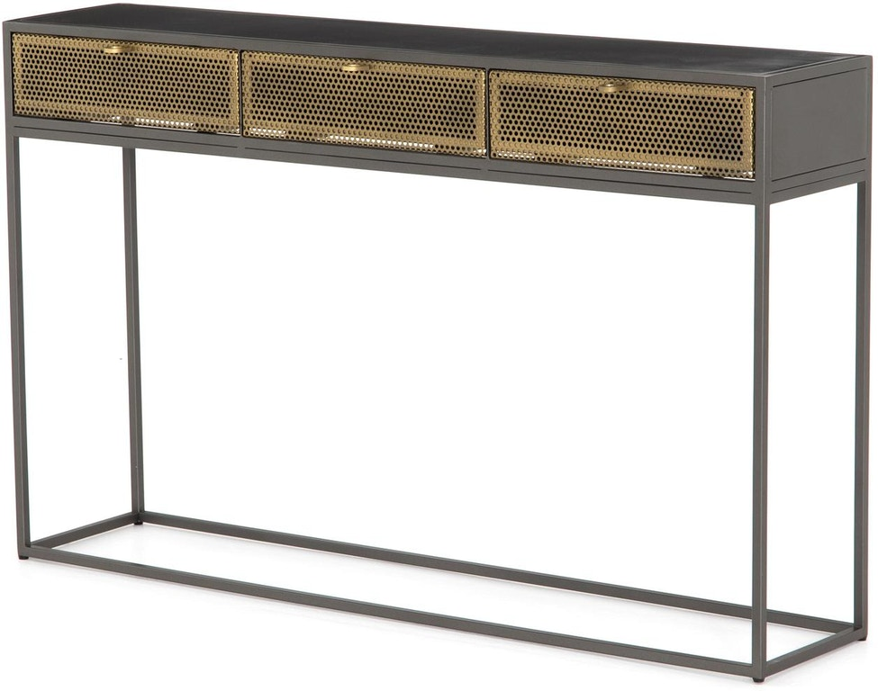 four hands console table
