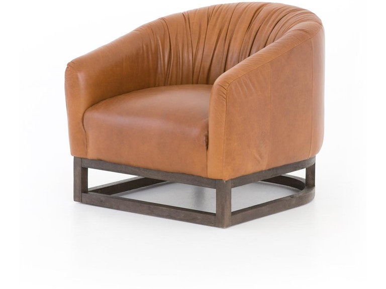 Four Hands Kendall Leather Chair Cken 23347 540 In Portland Oregon