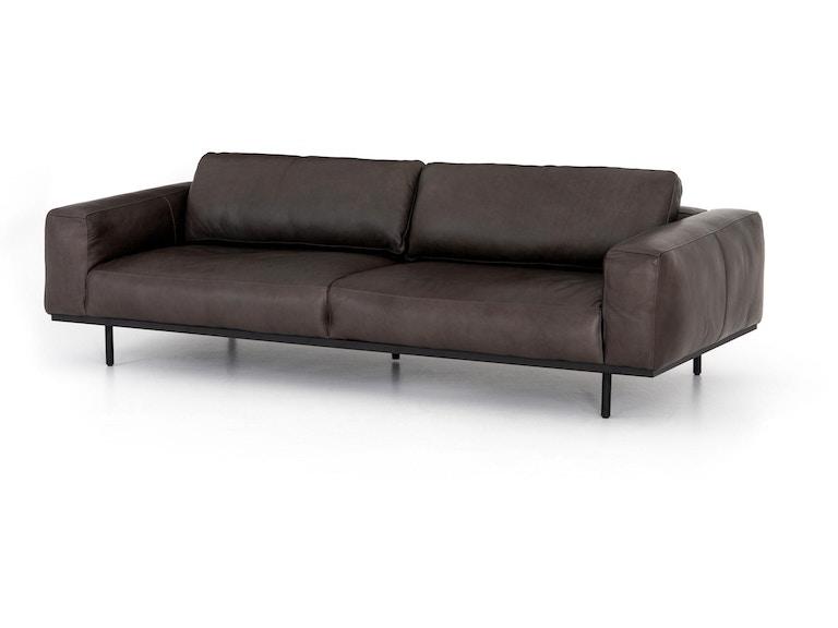 Four Hands Landy Leather Sofa 97 CCAR-10427-609 - Portland ...