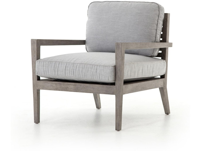 Four Hands Laurent Outdoor Chair Weathered Gry Teak JLAN-169-108 in Portland , - Four Hands Laurent Outdoor Chair Weathered Gry Teak JLAN-169-108