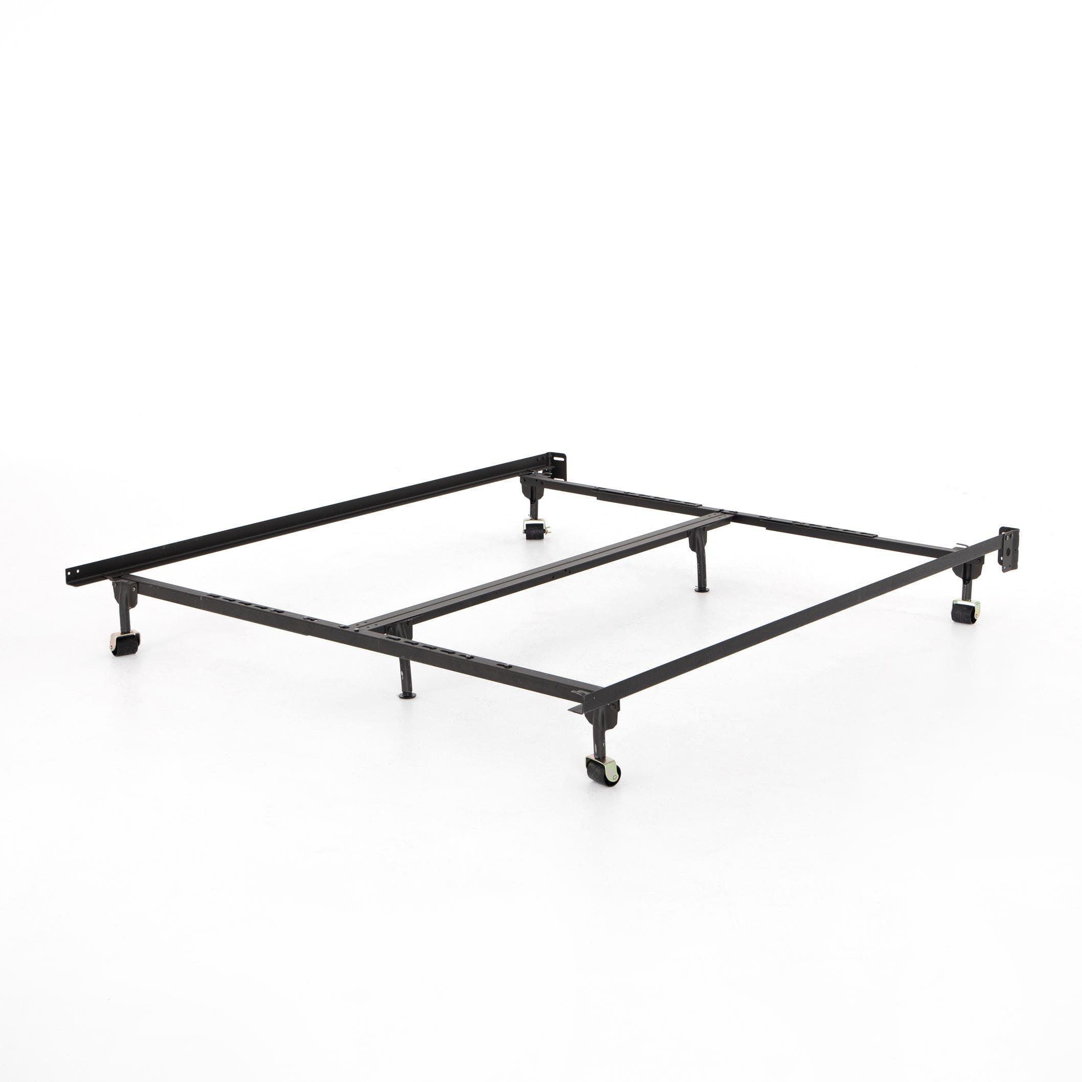 Four Hands Metal Bed Frame Black King Cal King 223420 002 Portland Or Key Home Furnishings