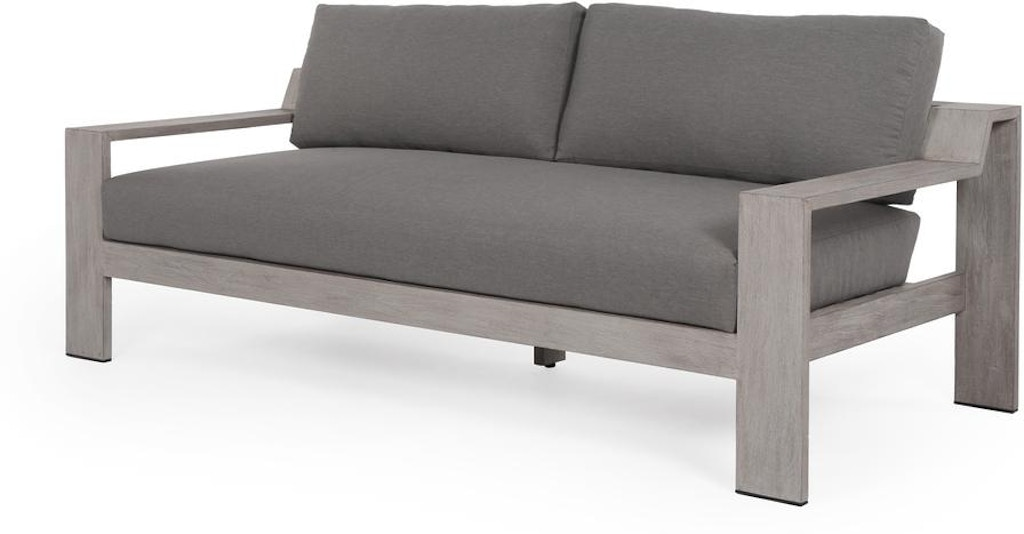Four Hands Monterey Outdoor 2 Seater Sofa 74 Grey JSOL-006A ...