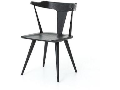 Four Hands Lewis Windsor Chair Black Oak Vbfs 001
