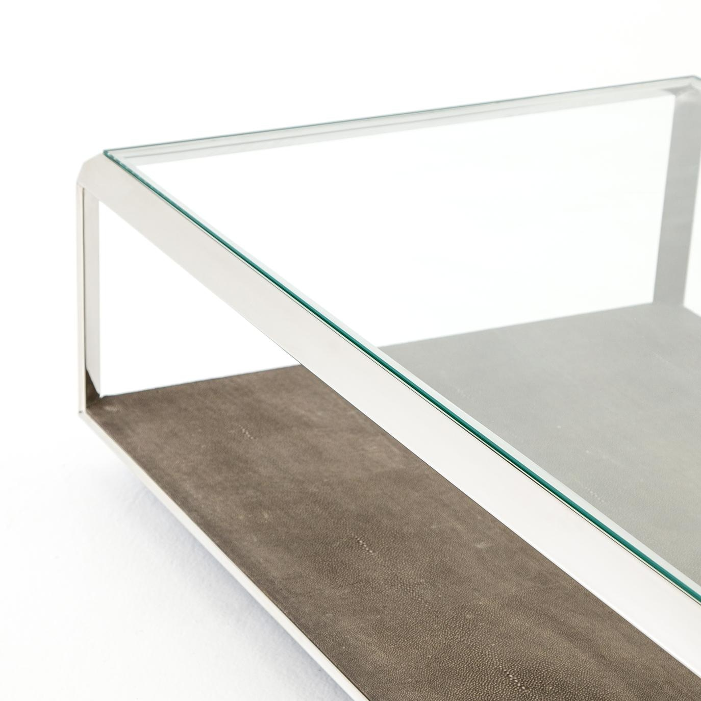 Four Hands Shagreen Shadow Box Coffee Table VBEN016 VBEN016