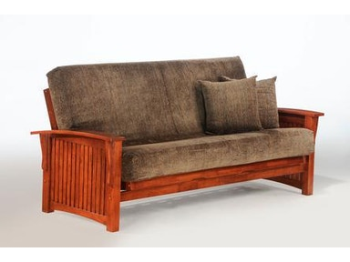 Night And Day Furniture Winter Loveseat Lounger In Cherry Finish Sa Wnt Ch