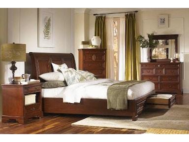 Aspenhome 5 piece queen sleigh bed with storage footboard set richmond sleigh bed sb java queen for 5 piece queen sleigh bedroom set