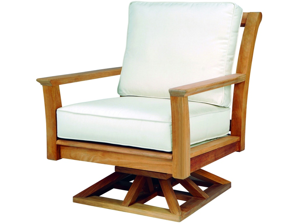 Kingsley Bate Chelsea Swivel Rocker Chair Outdoor Furniture At Key Home Portland Or