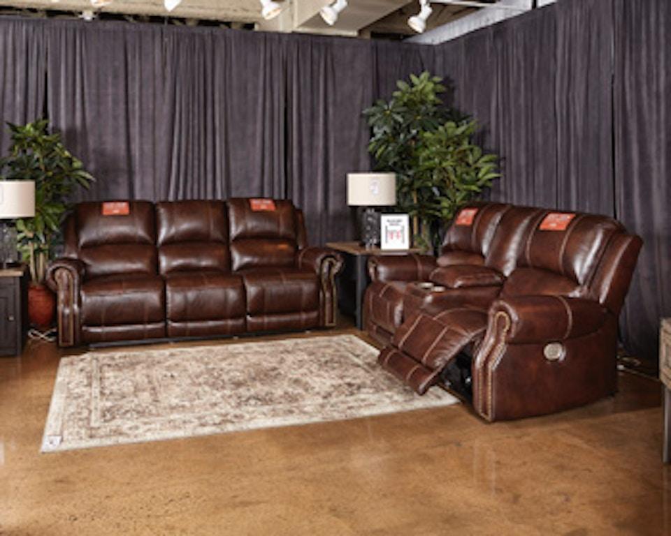 Surprising Power Reclining Sofa With Adjustable Headrest Creativecarmelina Interior Chair Design Creativecarmelinacom
