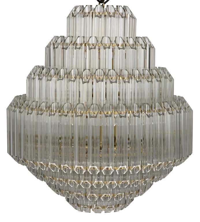 Noir Palazzo Chandelier Small Lamp564mb