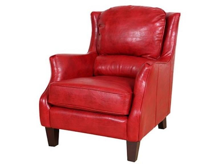 Porter Designs Acl516 Garnett Red Accent Chair 02 33c 06