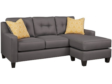 Ashley Aldie Nuvella Sofa Chaise and Loveseat Set 68702-18-35 ...