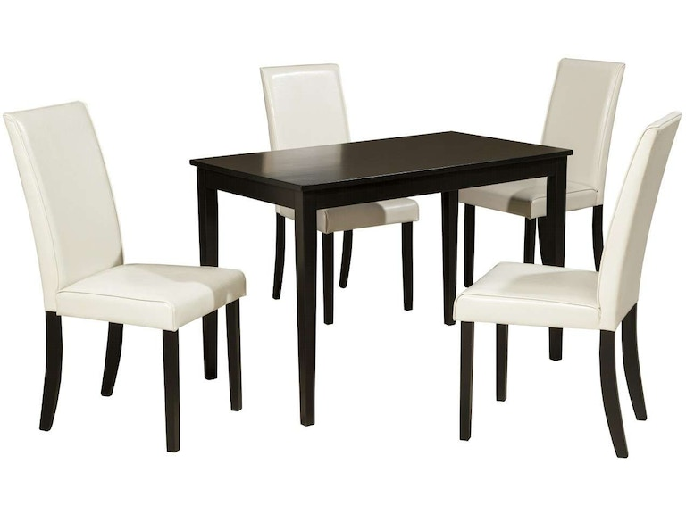 Ashley Kimonte 5 Piece Rectangular Dining Set Portland