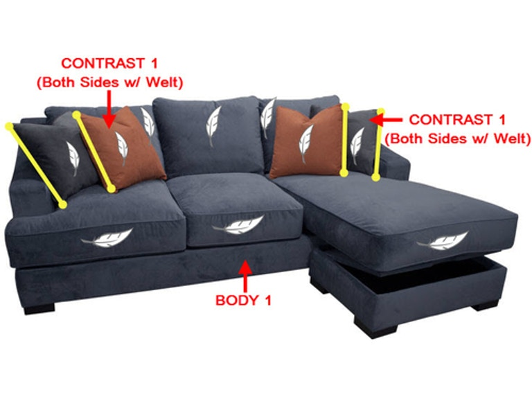 Stanton Sofa Chaise With Storage 33897 Portland Or Key Home