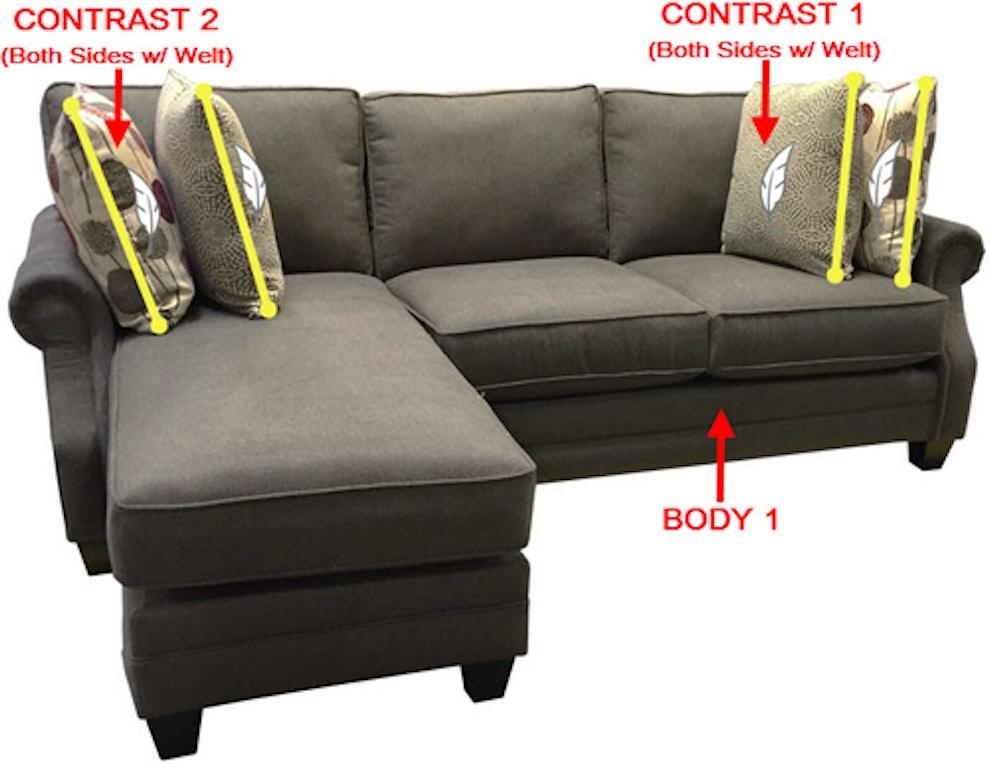 Stanton Sofa Chaise 39933 Portland