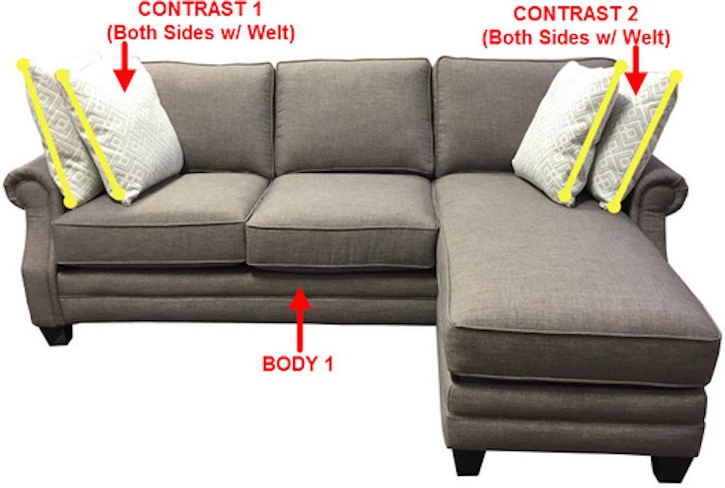 Stanton Sofa Chaise With Storage 39997