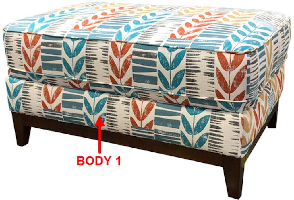 Enjoyable Stanton Large Rectangular Ottoman 42806 Portland Or Key Ncnpc Chair Design For Home Ncnpcorg