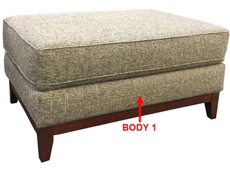Awesome Stanton Large Rectangular Ottoman 49106 Portland Or Key Ncnpc Chair Design For Home Ncnpcorg