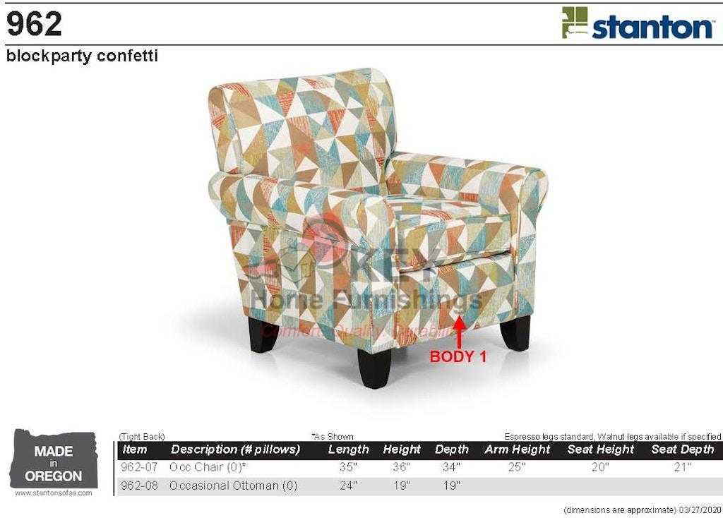 Stanton Chair 96207- Portland, OR   Key Home Furnishings