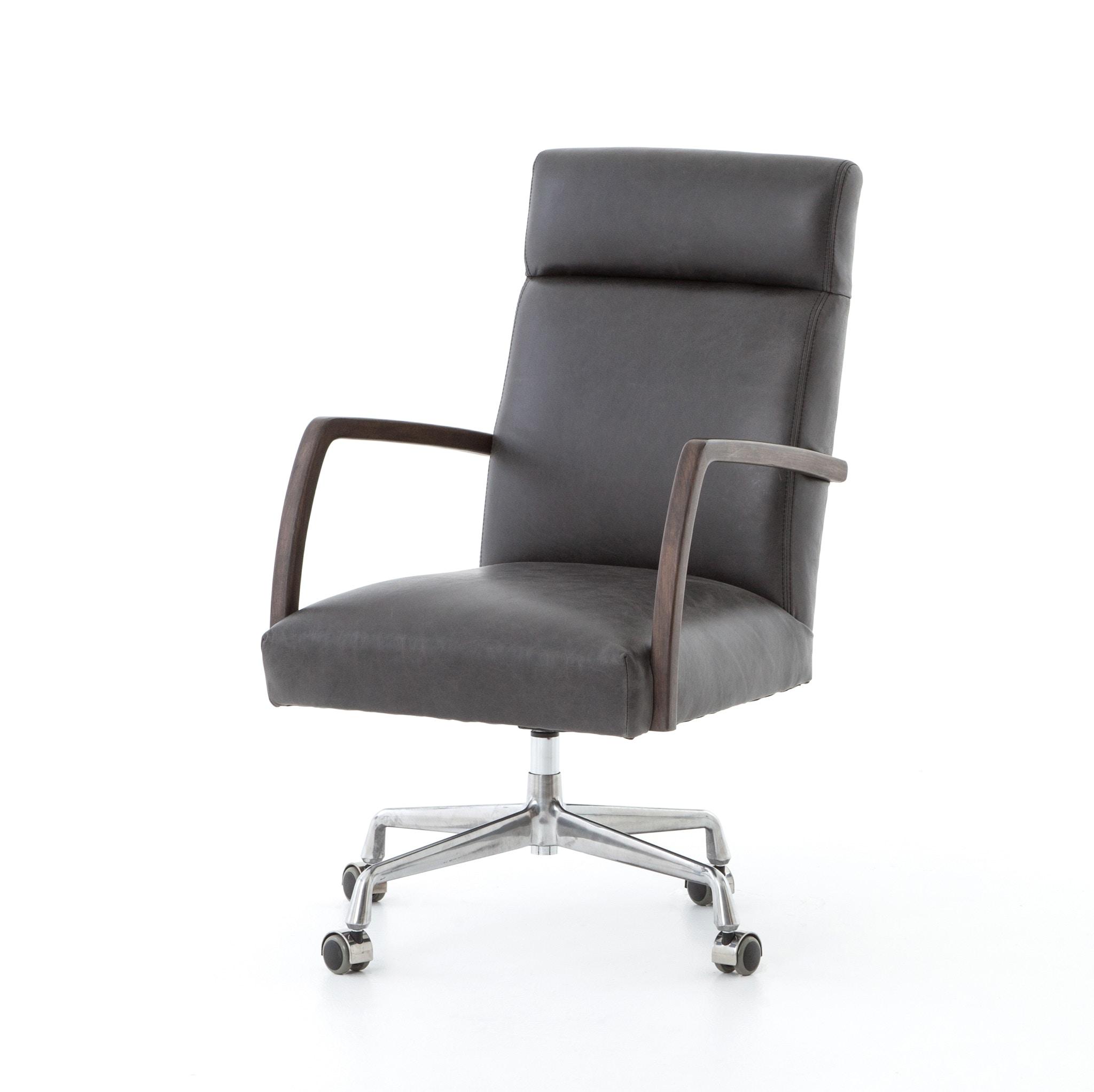Furnish Home Bryson Desk Chair   Chaps Ebony CABT 60