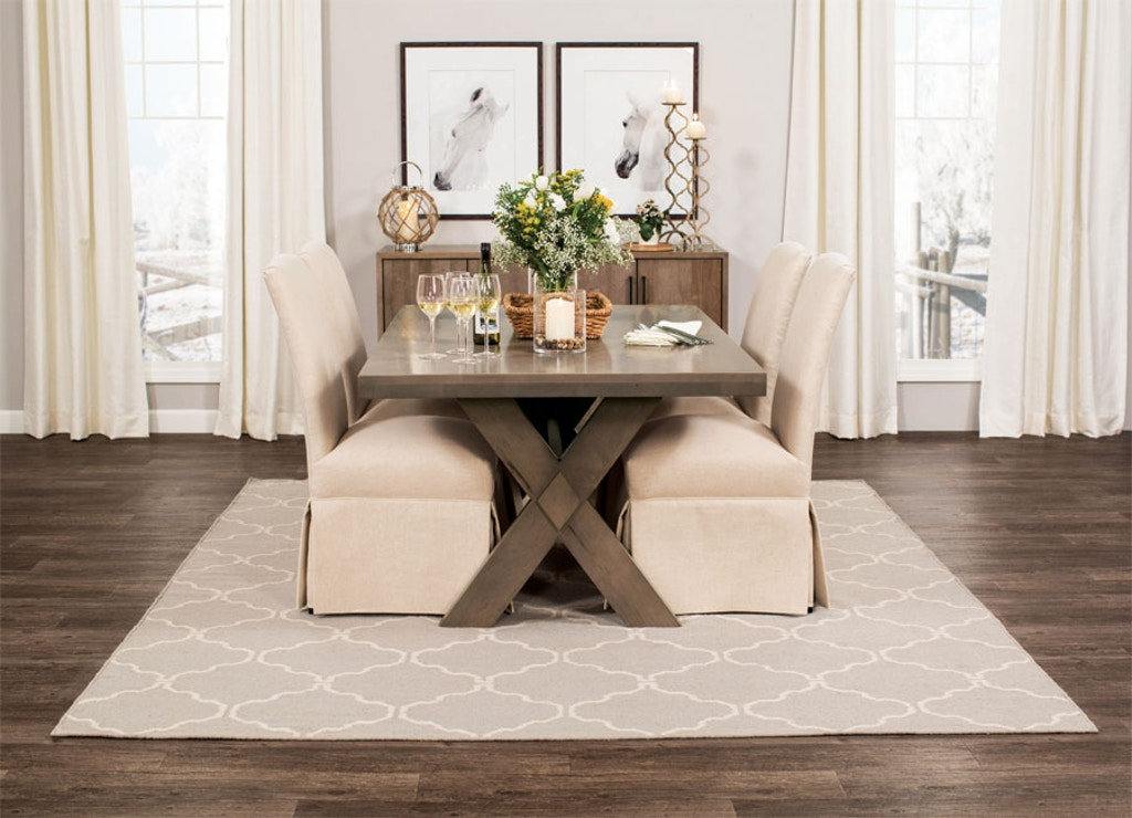 Magnificent Simply Amish Wildwood Dining Table Etwil Furnish Raleigh Nc Home Interior And Landscaping Ologienasavecom