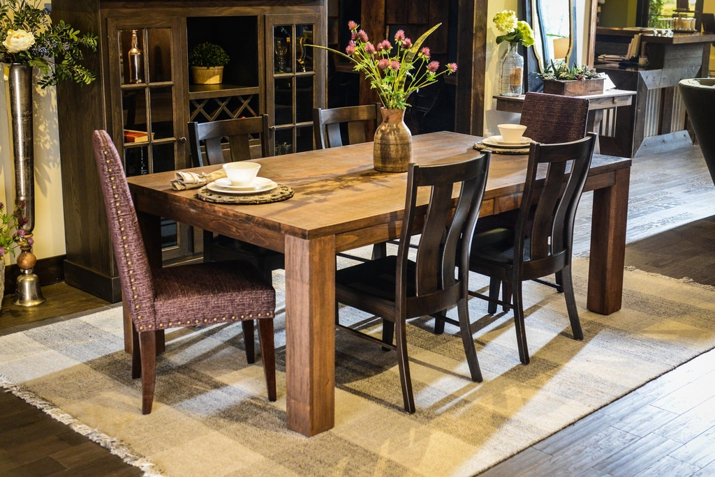 Simply Amish Quot Style Your Own Quot Dining Table Sal4884s