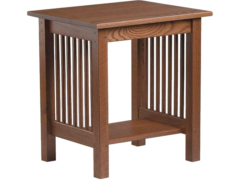 Country Value Woodworks Mission Style End Table Et 026