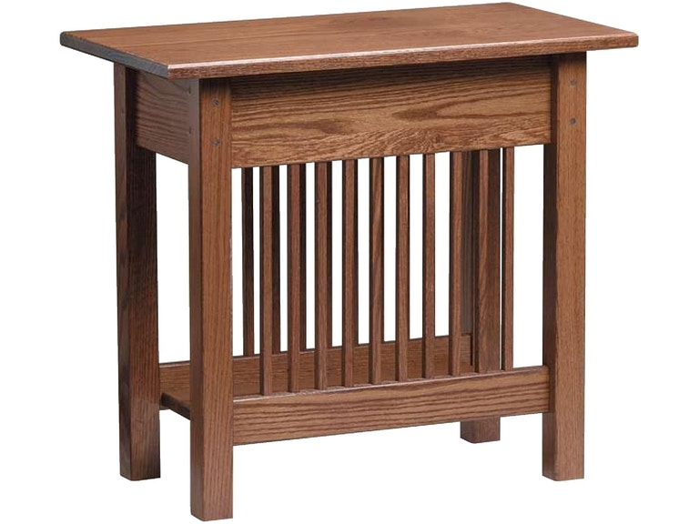 Country Value Woodworks Mission Style Chair Side Table 030