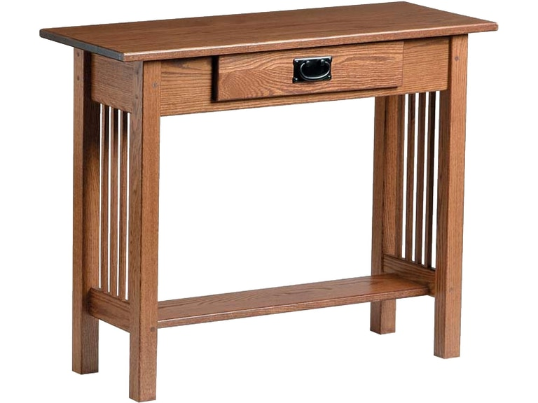 Country Value Woodworks Mission Style Console Table W Drawer Cs 044