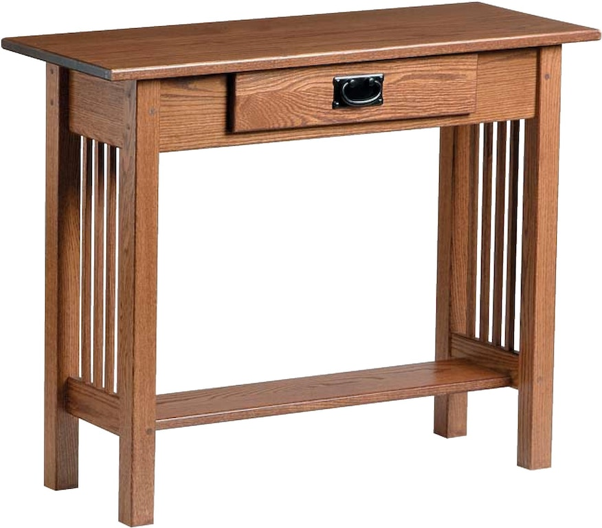 Country Value Woodworks Living Room Mission Style Console
