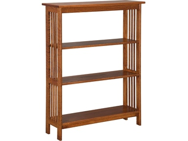 048 Mission Style 3 Bookshelf