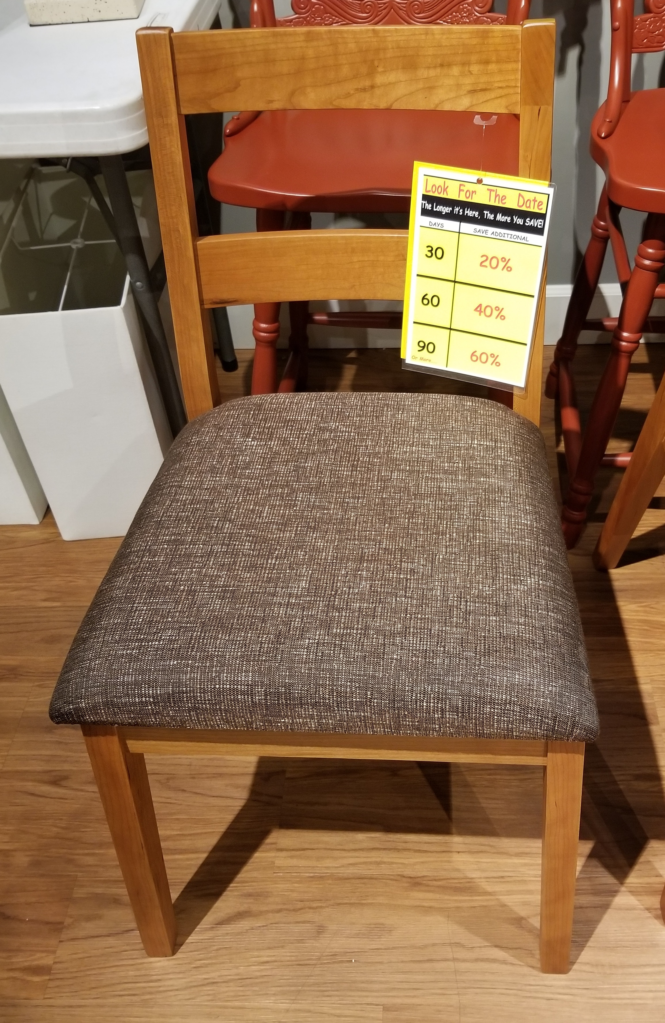 Clearance Sonora Side Chairs  Cherry FDFCDSCH9130