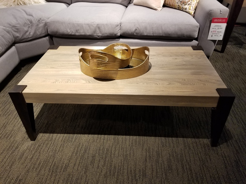 Clearance Robinson Coffee Table 2tone Flocottt9050