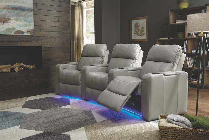 Palliser Furniture Living Room 41423 Home Theatre Seating At Treeforms  Furniture Gallery