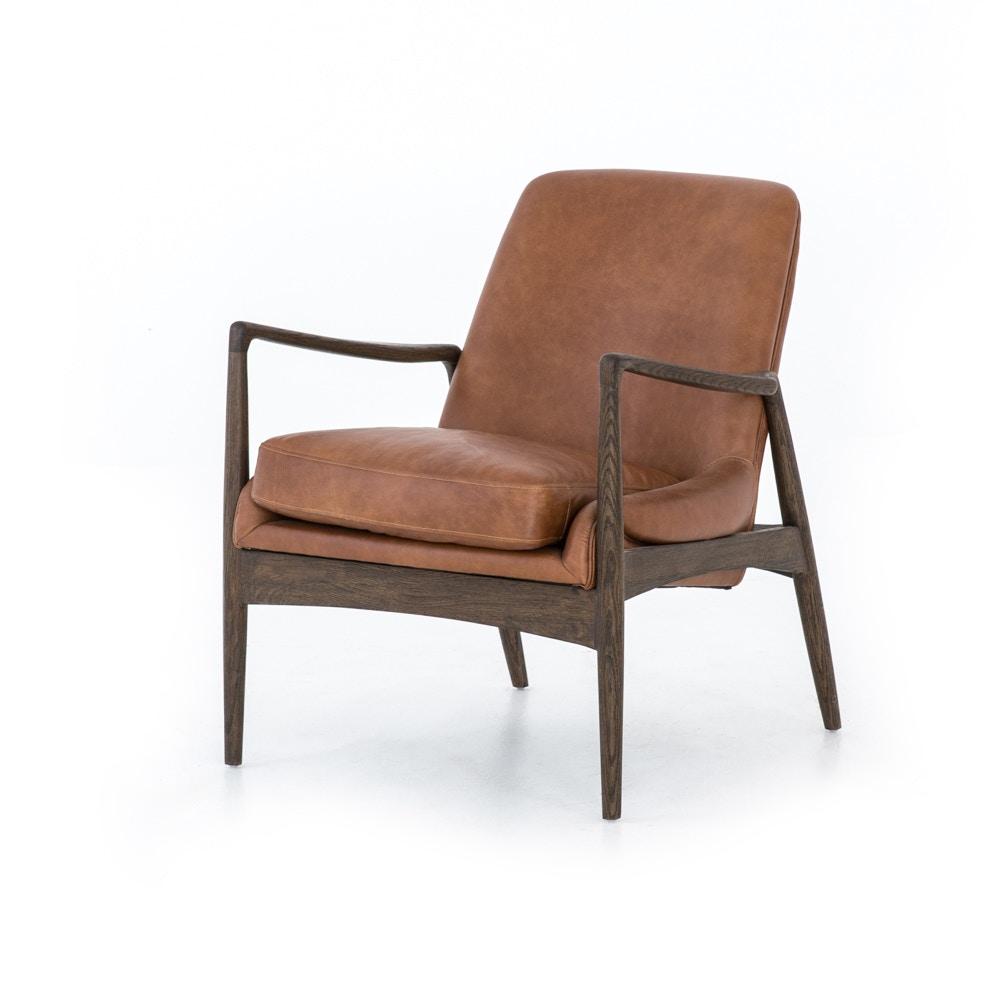 Fourhands Braden Leather Chair CASH 83J 68