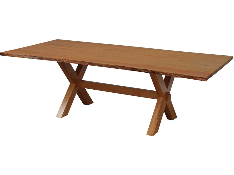 The Country Wood Dining Room Frontier Live Edge Table Le At Treeforms Furniture Gallery