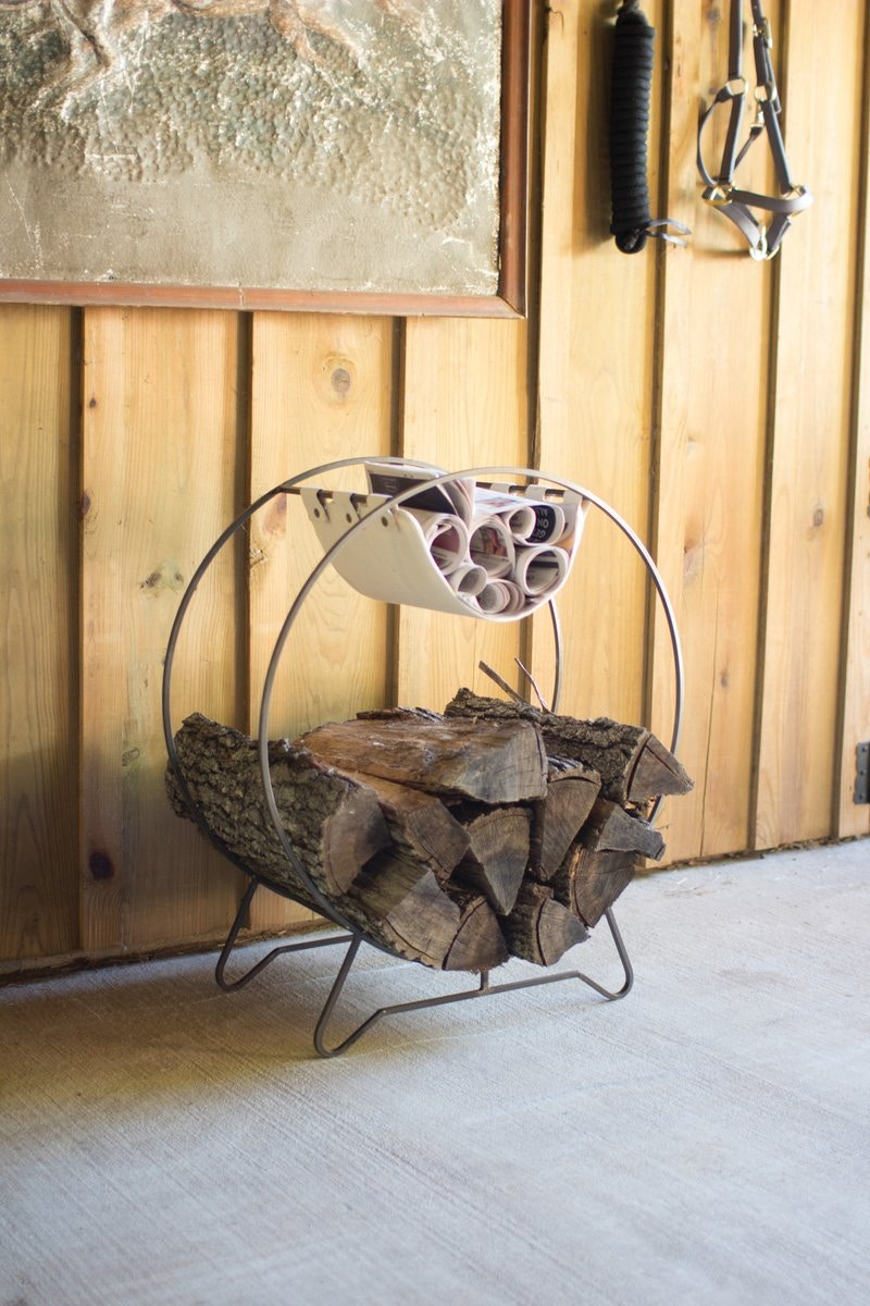 Merveilleux Kalalou Living Room Round Log Holder With Kindling Sling ACCDCOKA9641 At  Treeforms Furniture Gallery