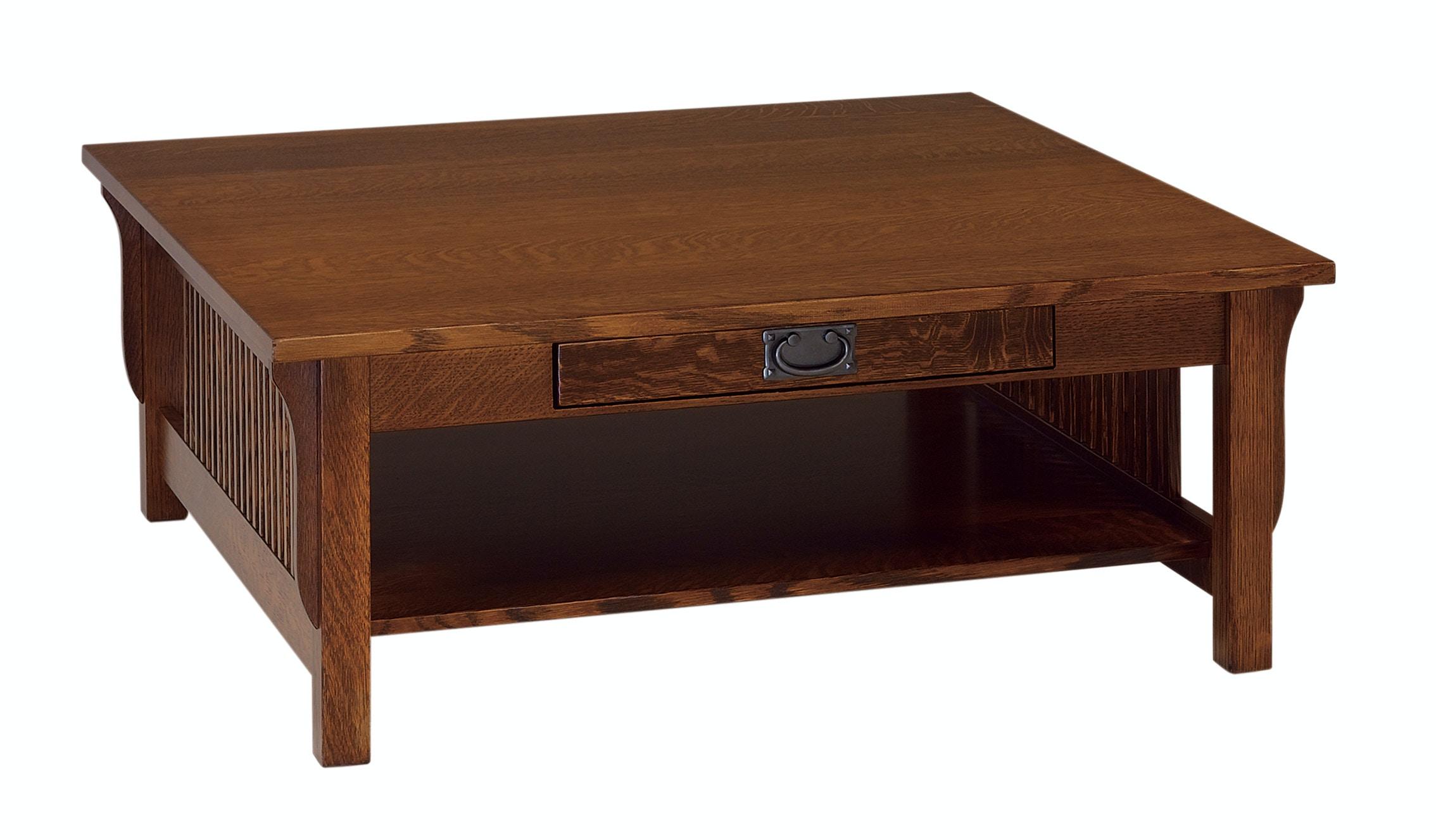 Crystal Valley Hardwoods Landmark Mission Style Coffee Table CF LM2848C