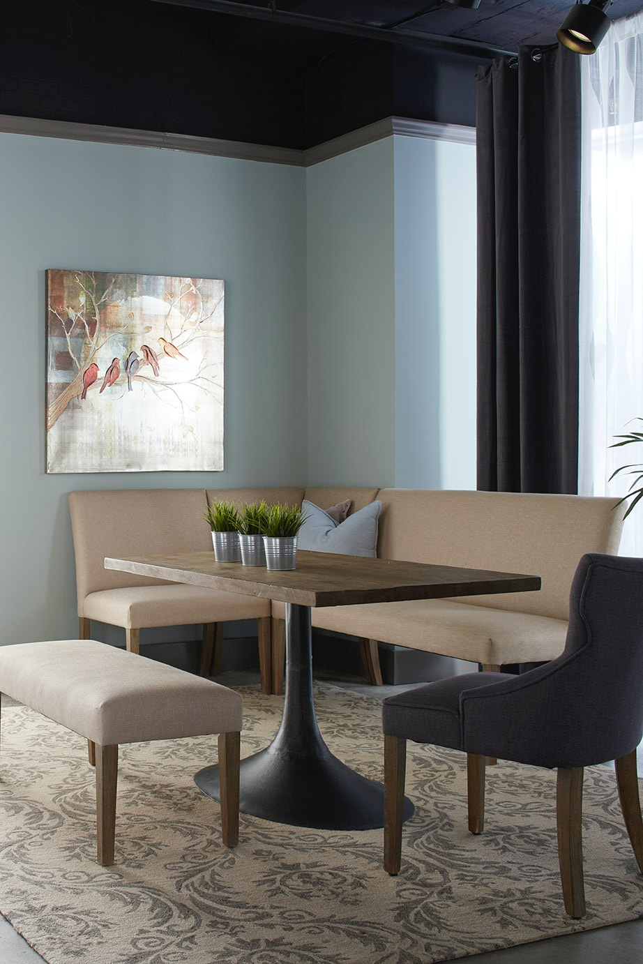 dining nook furniture. Nest Home Collections Megan Corner Dining Nook Furniture