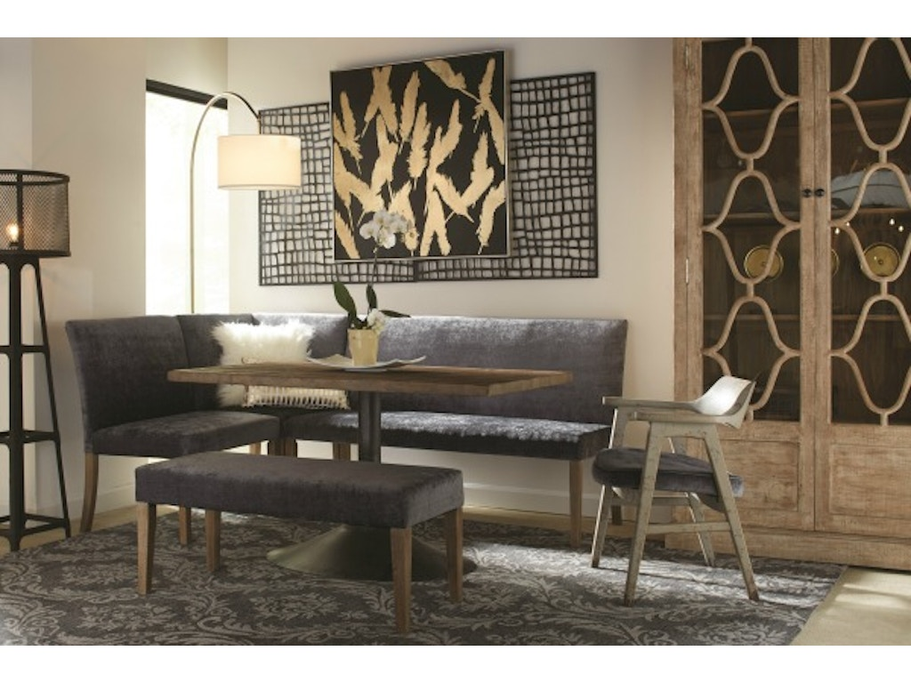 Nest Home Collections Living Room Megan Corner Dining Nook ...