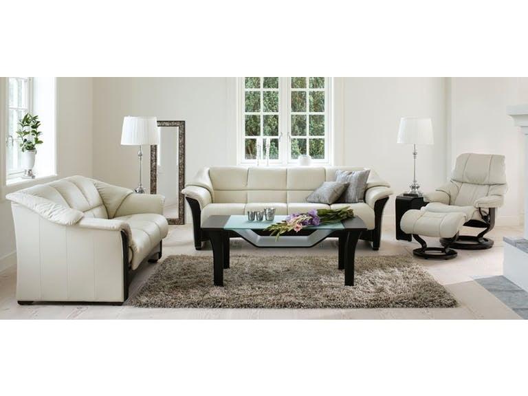 Stressless By Ekornes Living Room Oslo 3 Seat Sofa 2218030