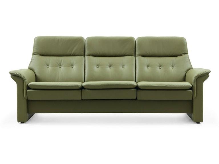 Stressless by Ekornes Living Room Saga High Back Sofa ...