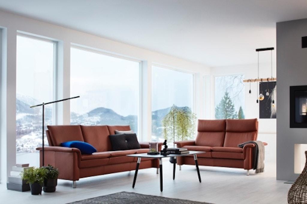 Stressless by Ekornes Living Room Aurora Sofa High Back ...