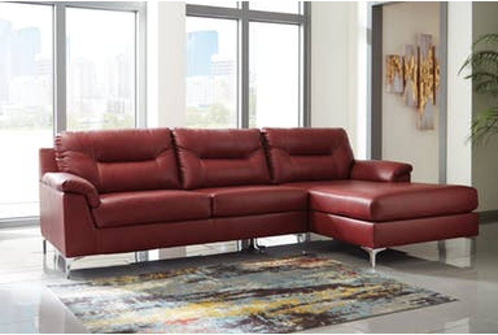 Signature Design by Ashley Living Room 2 Piece Sectional ...