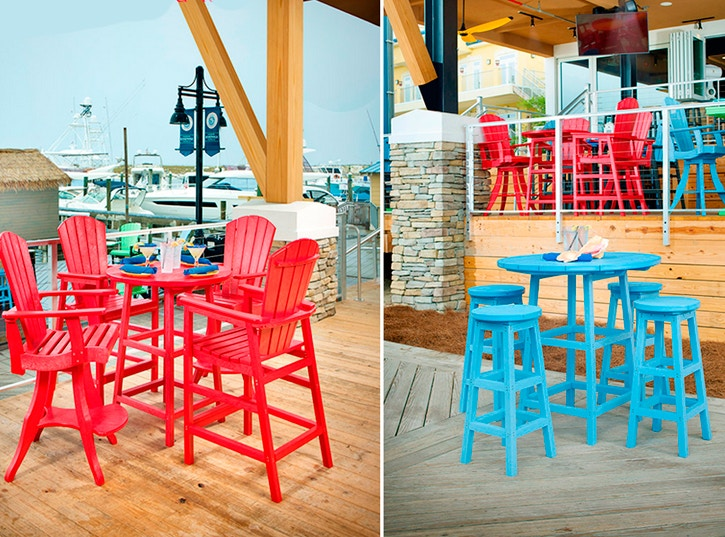Bon CR Plastics   Adirondack Pub Chairs And Stools SWIVEL PUB CHAIR Looking For  Something Timeless And