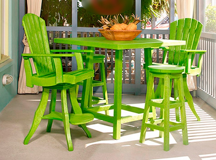 CR Plastics   Adirondack Tables ADDY SIDE TABLE A Great Conversation Table  Between Adirondack Chairs.