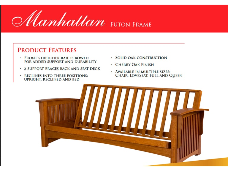 Gold Bond Futon Frame Manhattan Gb Manhat
