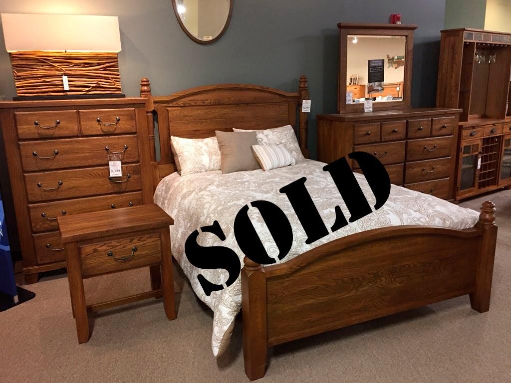 Clearance sold american made queen bedroom set clrnc mericaqueen