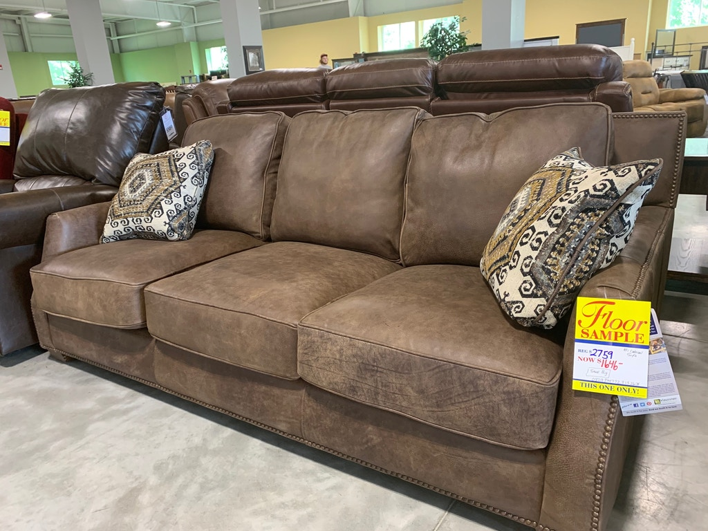 Nail Head Designer Sofa Super Comfy Down Blend Cushions And Nail Head Designs Make This Sofa An Absolute Steal It Will Not Last Long